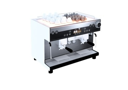 Espresso machine heater